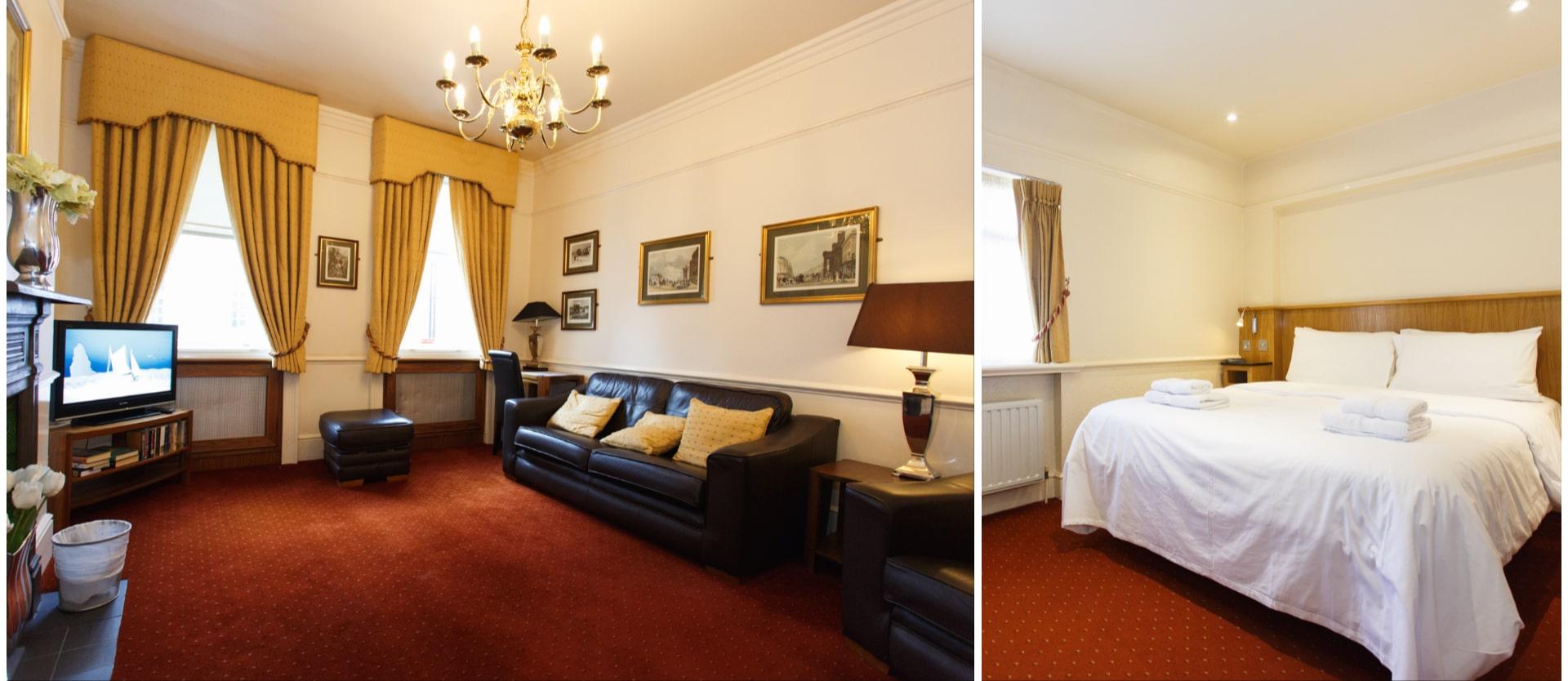 Rooms at the Morgan Hotel